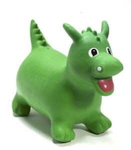 Happy Hopperz Dino - 12+ Months Larger Toddler, Green