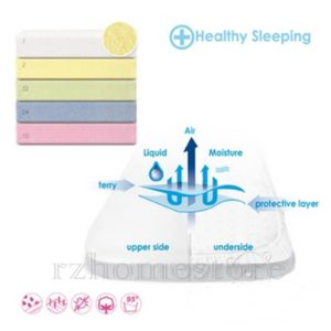Waterproof & Breathable Terry Fitted Sheets - Baby&Infant - Toddler - Cot - Bed Sheet