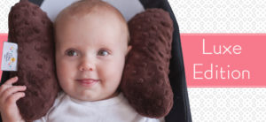 Baby&Infant Elephant Ears - Head & Neck Support Pillow - Chiropractor Inspired Headrest
