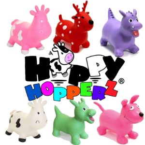 NEW Happy Hopperz Inflatable Bouncers Kids Space Hopper Massive Range