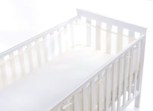 BreathableBaby Breathable Mesh Baby Cot CotBed Liner Bumper Hypoallergenic Liner