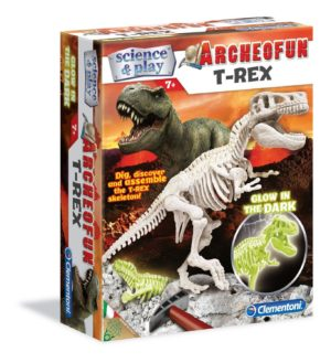 Clemontoni Archeofun T-Rex Tyrannosaurus Glow in the Dark Science & Play Kit