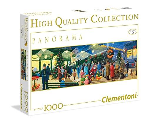 Clementoni 39247 Christmas Santa Express Locomotive Puzzle, 1000-Piece