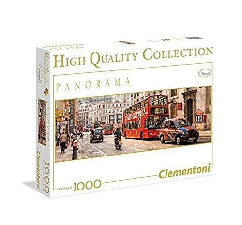 Clementoni 39436 Clementoni-39436-High Quality Collection Panorama-London-1000 Pieces, Multi-Colour