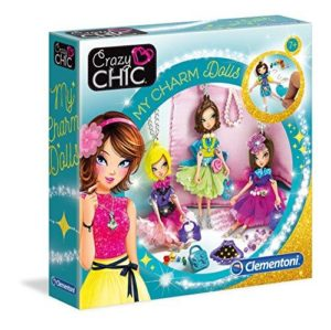 Clementoni 15222 Crazy Chic Dolls Charm Collection, Multi-Coloured