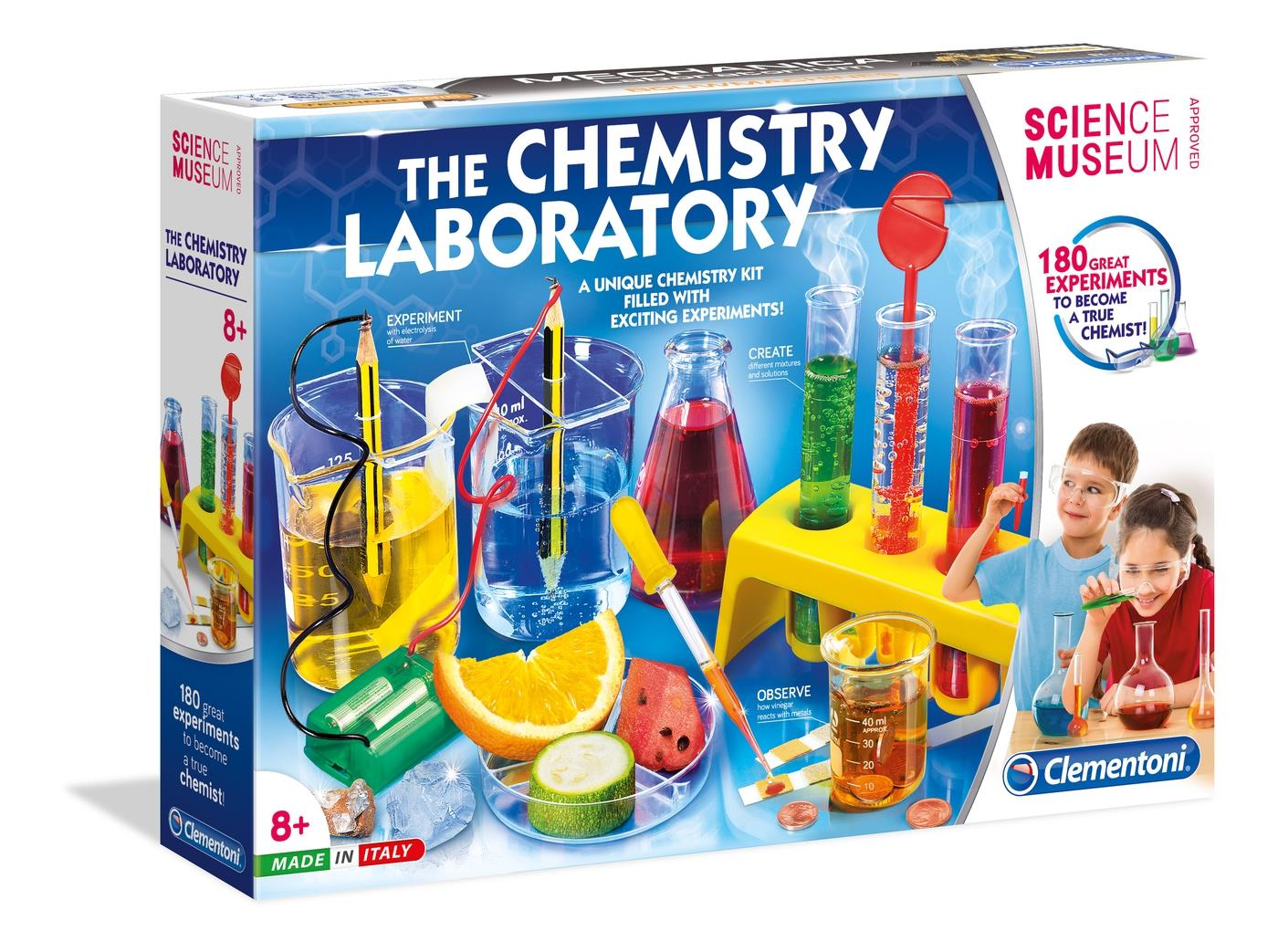 SCIENCE MUSEUM Clementoni My First Chemistry Set