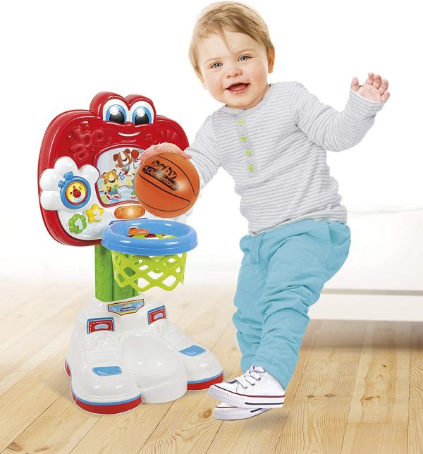 Clementoni 61597 Set Baby Basketball Counter