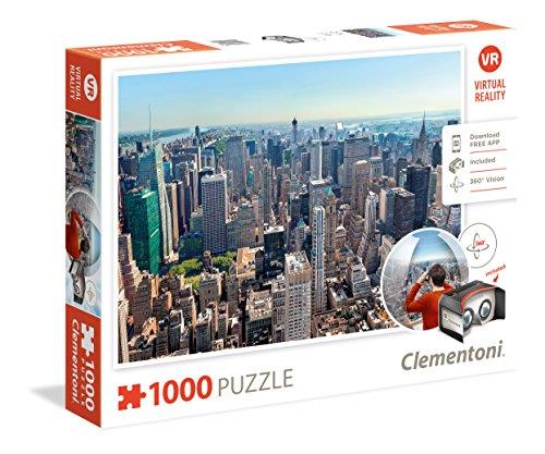 Clementoni - 39401 - Virtual Reality Puzzle - New York - 1000 Pieces