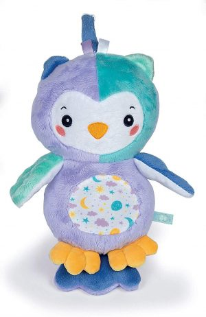 Clementoni 17268 Night Owl Light up Plush