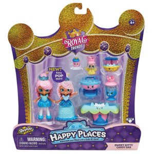 Shopkins Happy Places Royal Trends Surprise Me, HAP37000, Sweet Kitty Candy Bar