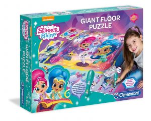 Clementoni - 61816 - Giant Floor Puzzle Shimmer and Shine