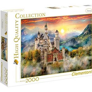 Clementoni 32559.7 Clementoni-32559-High Quality Collection-Neuschwanstein-2000 Pieces, Multi-Colour